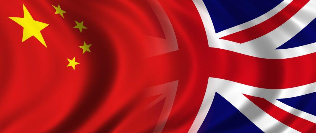 UK & China Flags