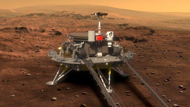 CHINA + MARS