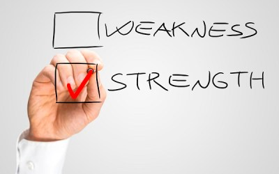 KNOW STRENGTHS + WEAKNESSES OF YOUR CASE