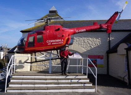 Any donations please give to Cornwall Air Ambulance