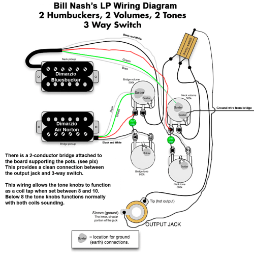 small resolution of nash les paul style wiring diagram
