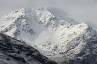 Ben Lui in winter 1