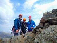 Me, Jim, and PB on the summit of Pillar Rock