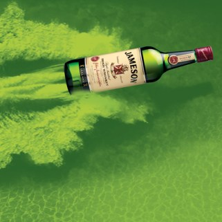 jameson irish whiskey dublin film festival ticket graham stewart copywriter advertising