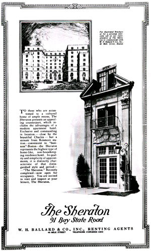 Grahm Junior College History of Kenmore Square