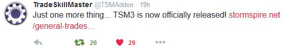 TSM3 tweet