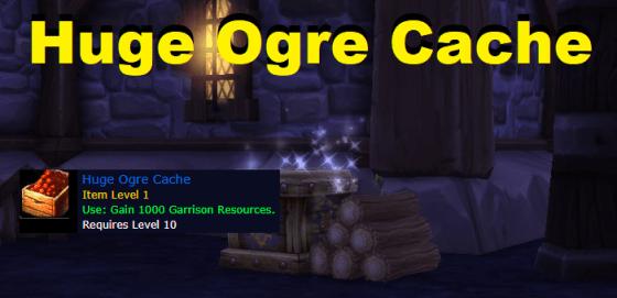 Flipping Huge Ogre Cache