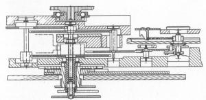 """""""Calibre 82"""" cutting through the gear train"""