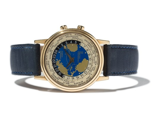 This world timer was made in 1992 to commemorate the 500th anniversary of Christopher Columbus' voyage to the new world