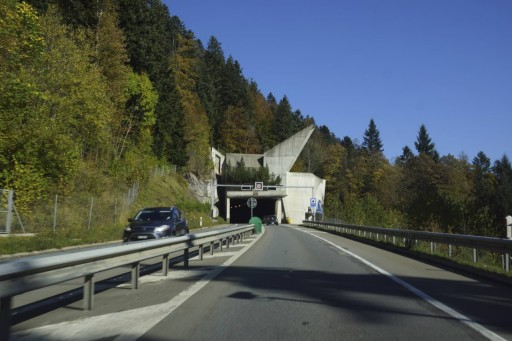 Switzerland is full of tunnels!