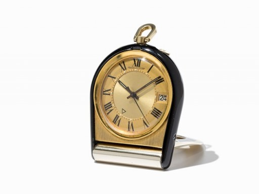 This travel alarm clock is a great way to get into Jaeger-LeCoultre on a budget!