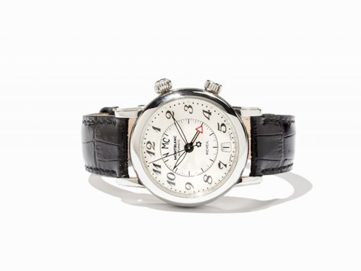 This Montblanc Meisterstück Reveil is a wearable and modern alarm watch