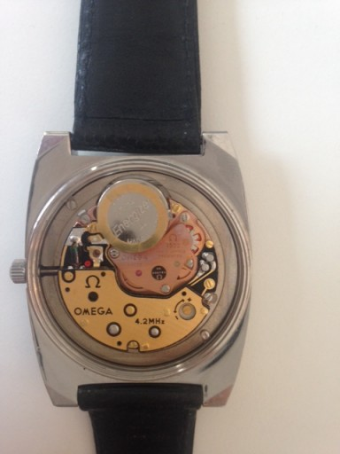 "Here's a surprise to find inside a watch marked ""Automatic""!"