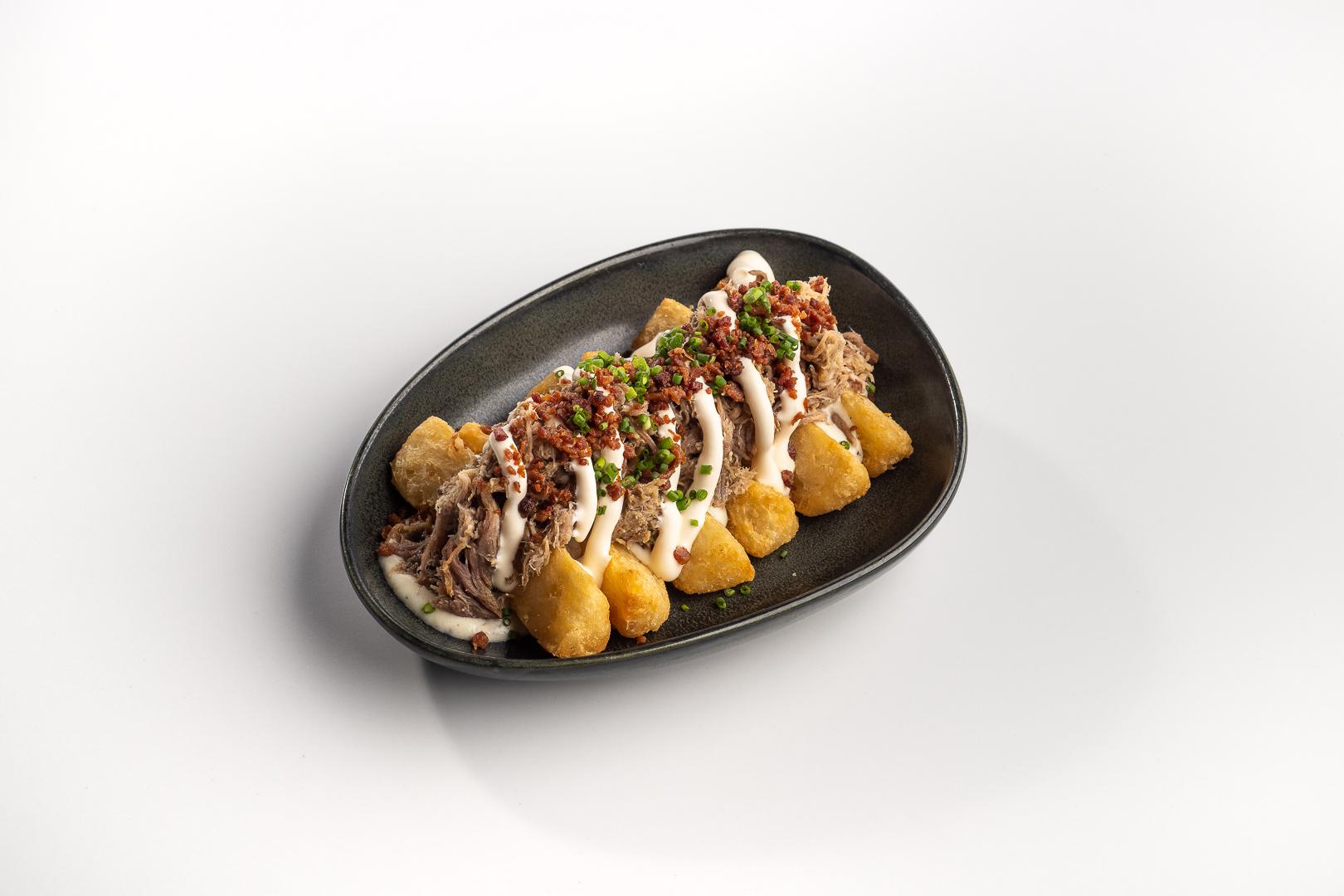 Take Two. Loaded Yuca Fries