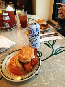 a gansett and a biscuit. what more do you need in life???