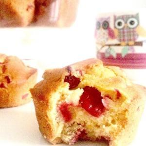 Ce matin c'est #muffin #cranberries fraîches. Bon dimanche!
