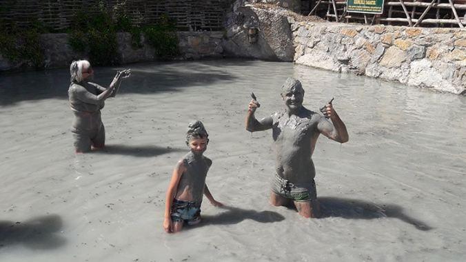 bain de boue à dalyan en turquie