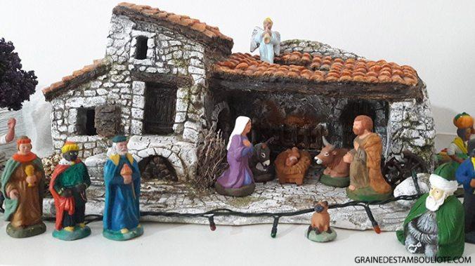 crèche provençale et imam