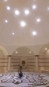 hammam ou bain turc salle chaude à Istanbul Turquie