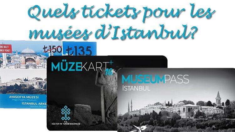 tickets museum pass et muze kart pour visiter les musées d'Istanbul