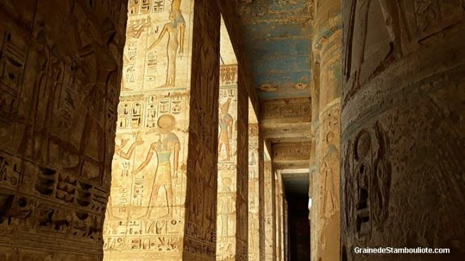 temple des millions d'années de Ramses III, medinet Abou, Louxor, Thèbes Egypte