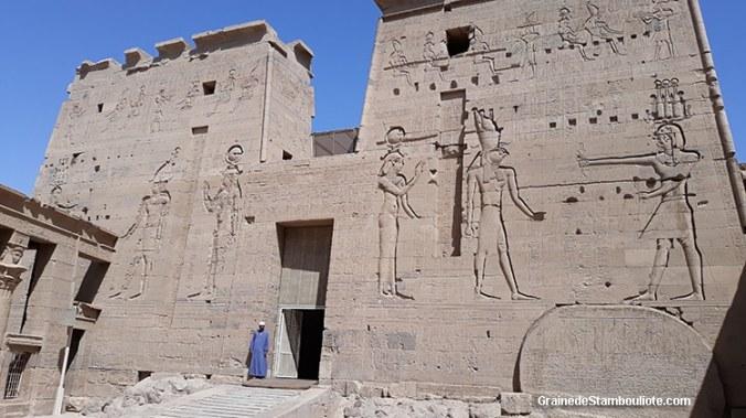 Philae, temple d'Isis, Assouan, Haute Egypte