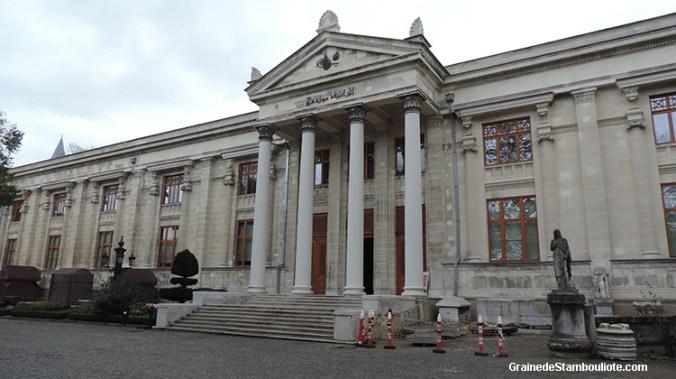 musée archéologique d'Istanbul Turquie, horaire, tarif, restaurations en cours