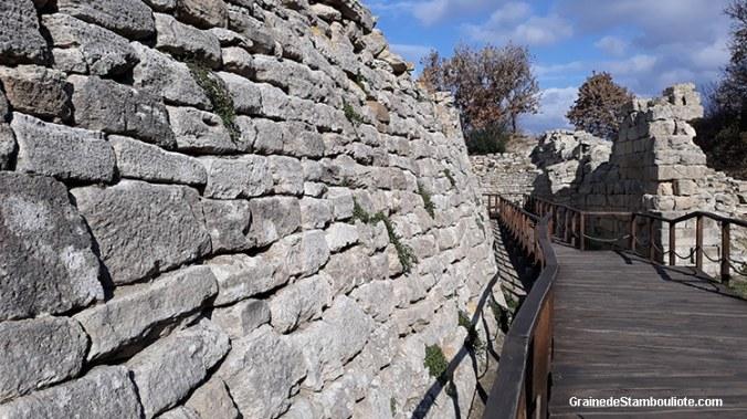 muraille de Troie, Porte Est, Guerre de Troie, Homère, Iliade