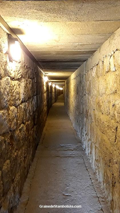tombeau du Roi Midas, tumulus, couloir d'accès, Gordion, Polatli, Phrygie