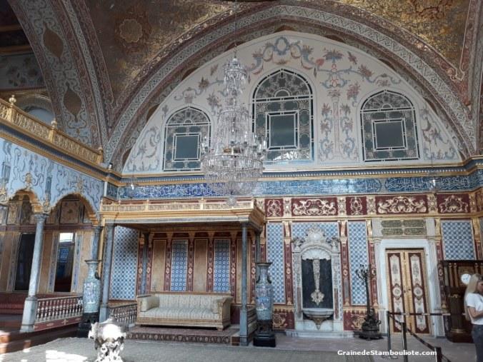 Palais Topkapi, Harem, Chambre impériale du Sultan, Istanbul, Ottoman