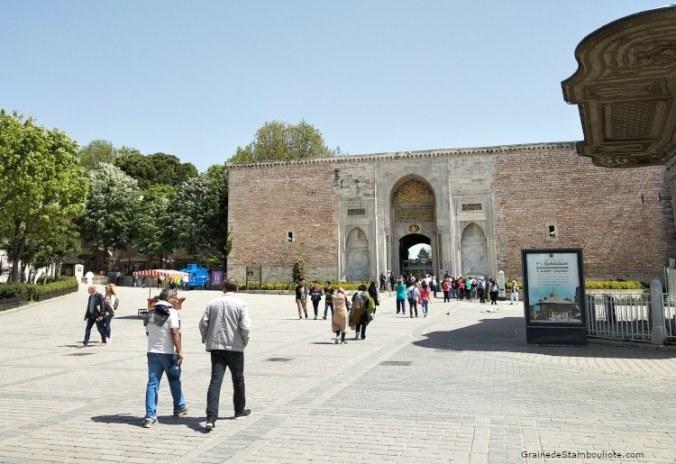 Palais Topkapi, Porte Impériale, Fontaine du Sultan Ahmet III, Istanbul
