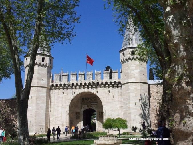 Palais Topkapi, Porte du Salut, Porte du Milieu, Palais de l'empire Ottoman, Istanbul