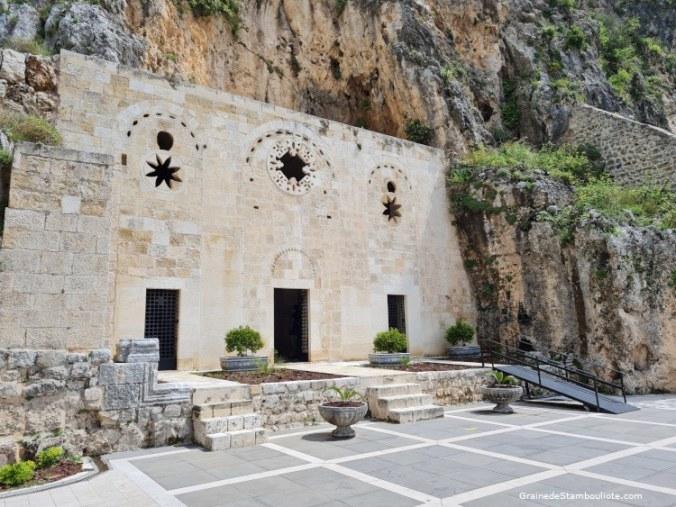 Grotte Saint-Pierre Antakya, Antioche, Hatay, Turquie, façade