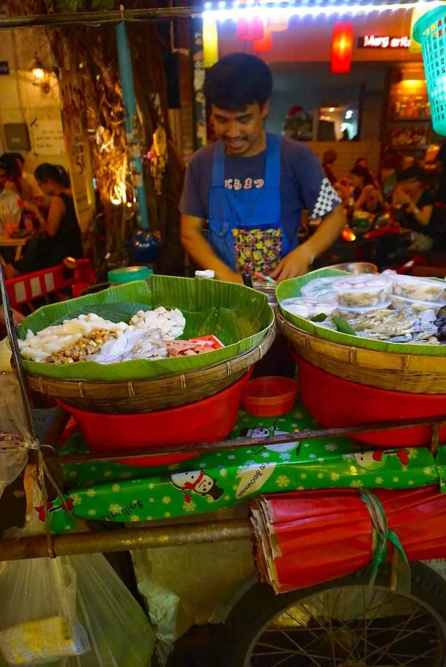 street-food rues de bangkok marchands ambulants