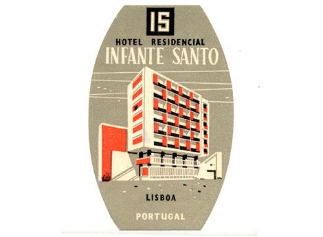 Hotel Infante Santo via http://grainedit.com