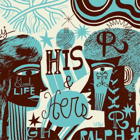 nate williams, n8w, illustration mundo, hola mi amiga, illustration