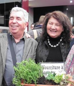 Lydia et Claude Bourguignon