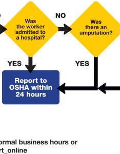 Reporting flowchart also osha recordingkeeping  requirements grainger industrial rh