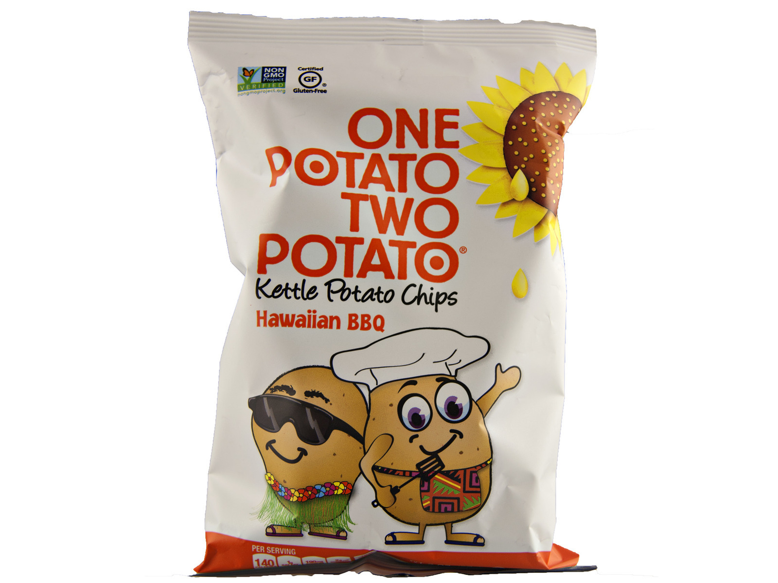 Hawaiian BBQ Potato Chips 24/2oz