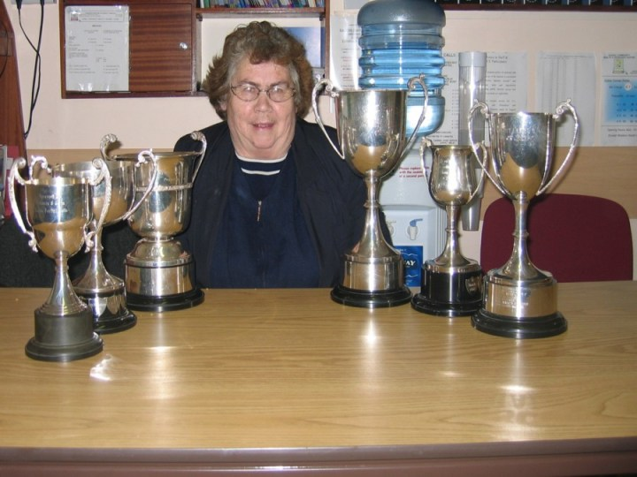 21 2004 MARY WITH CUPS AT CASHEL PIC