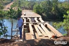 Prefeitura constroi ponte da Aldeia Bacurizinho 01