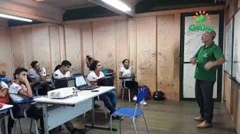 Palestra escolas com tecnicos da SECAP 02