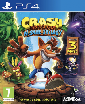 Crash Bandicoot N. Sane Trilogy na PS4 za 76,41 zł – cdkeys