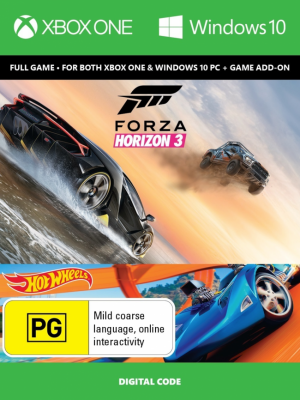Forza Horizon 3 + Hot Wheels (XOne + PC) + Assassin's Creed Unity (XOne) za 78,88 zł – cdkeys