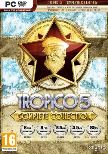 Fanatical Star Deal – Tropico 5 Complete Collection