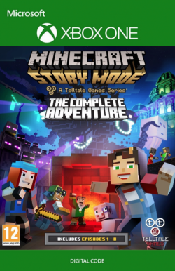 Minecraft Story Mode Complete Adventure na Xbox One za 11.63 zł w CDKeys