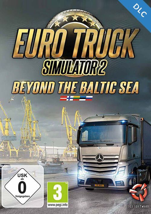 Euro Truck Simulator 2 – Beyond the Baltic Sea za 38.47 zł w HRK