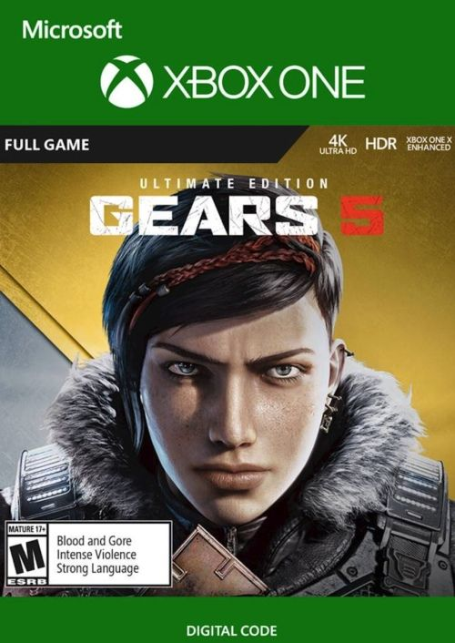 Gears 5 Ultimate Edition (XOne+PC) za 104.89 zł w CDKeys