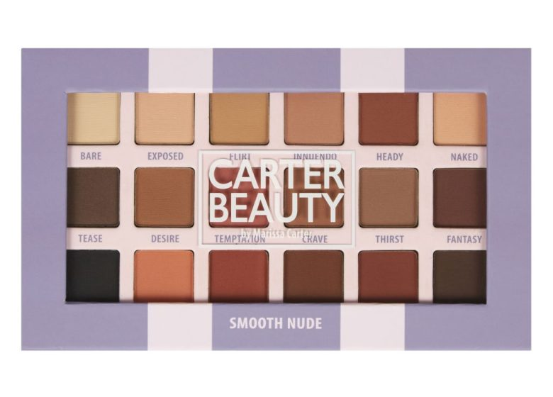 Carter Beauty 'Smooth nude' swatches