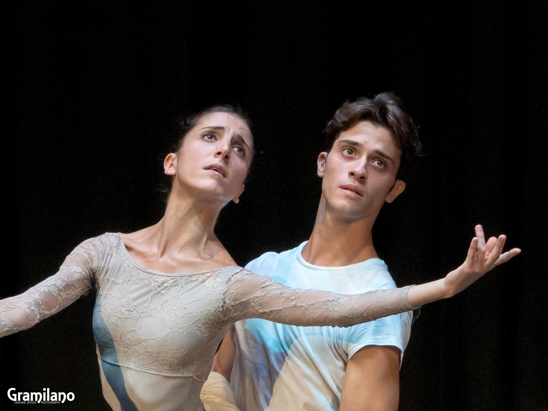Vittoria Valeri and Claudio Coviello rehearse Giselle